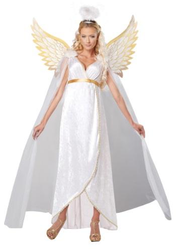 Disfraz de ángel guardián para adulto