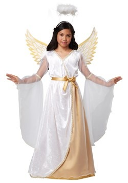 Disfraz de ángel guardián para niñas