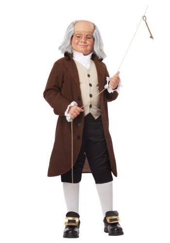 Disfraz de Benjamin Franklin para niños