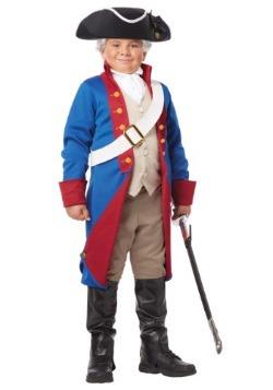 Disfraz de patriota americano para niño