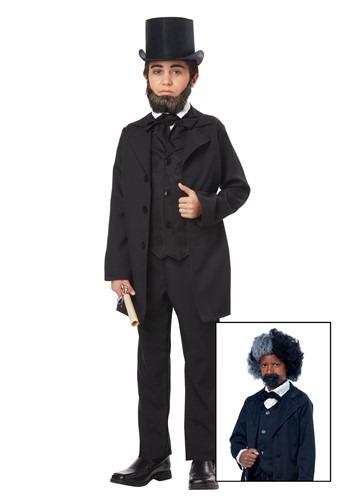 Disfraz de Abraham Lincoln para niño