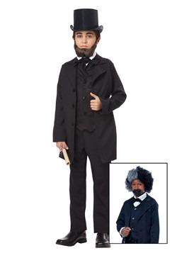 Disfraz de Abraham Lincoln para niños