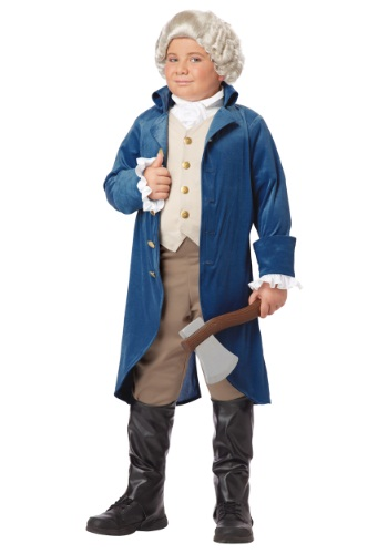 Disfraz de George Washington para niño