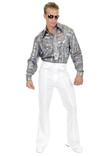 Camisa disco con brillos talla extra