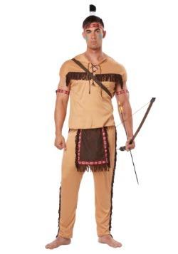 Adulto nativo americano valiente