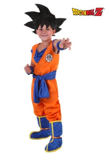 Disfraz de Goku para niños pequeños
