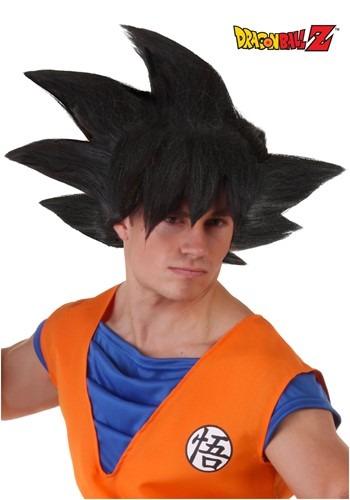 Peluca de Goku para adulto