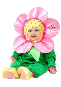 Disfraz de florecita de primavera