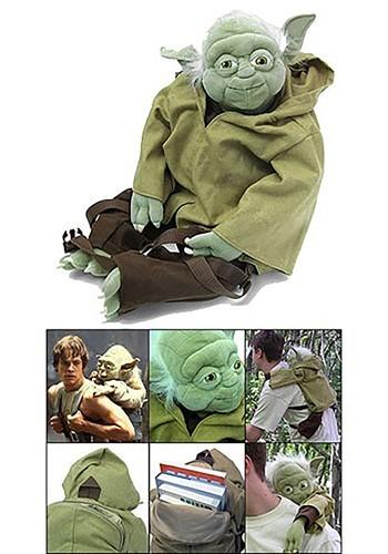 Mochila de Yoda de peluche