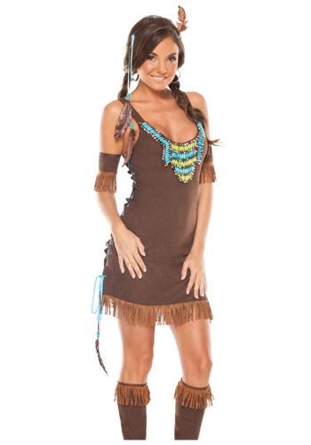 Tentador traje indio