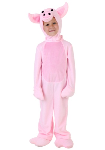 Disfraz de cerdo para niños pequeños