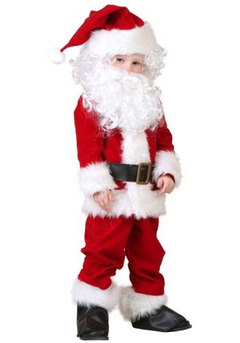 Disfraz deluxe de Santa para niños pequeños
