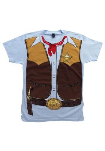 Camiseta de vaquero para hombre