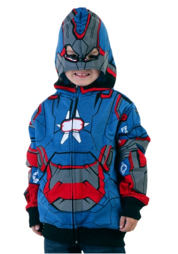 Sudadera juvenil de Iron Patriot