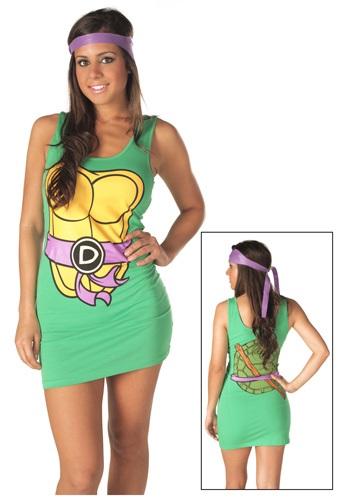Vestido de tirantes morado TMNT Donatello