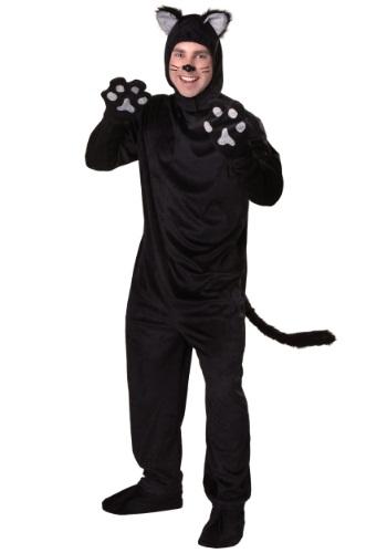 Disfraz de gato negro talla extra