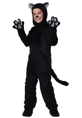 Disfraz de gato negro infantil