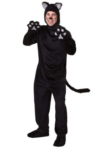Disfraz de gato negro para adulto