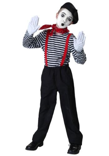 Disfraz infantil de mimo