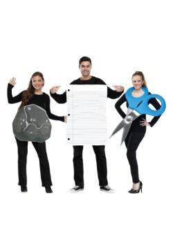 Piedra, papel, tijeras, disfraz para adulto