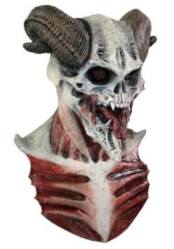 Máscara de calavera de diablo