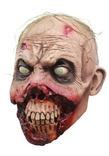 Máscara de zombie de encías podridas