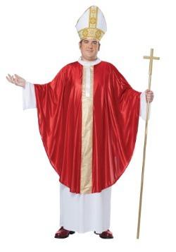 Disfraz de Papa talla extra