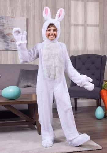 Disfraz de conejo blanco para niños