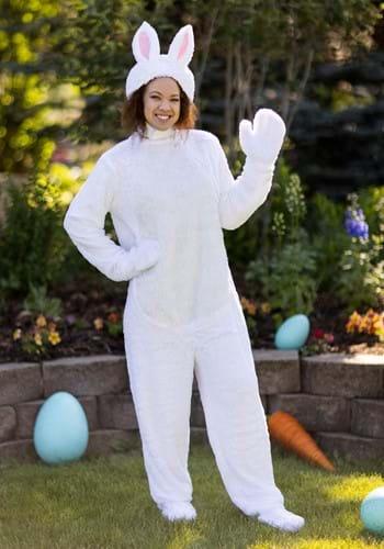 Disfraz de conejo blanco para adulto