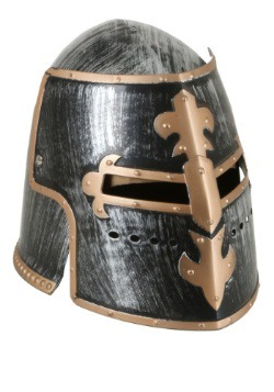 Casco medieval ajustable para adulto