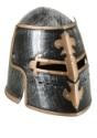 Casco medieval ajustable para adulto