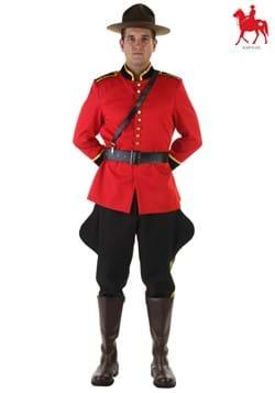 Disfraz de policía montado canadiense talla extra