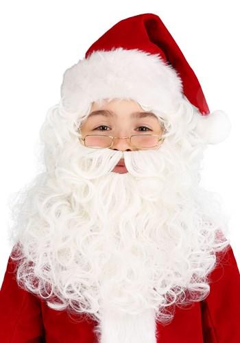 Peluca y barba de Santa
