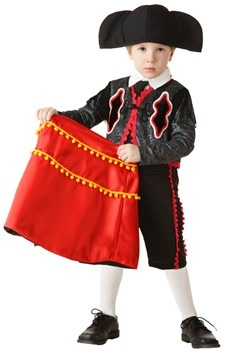 Disfraz de matador para niños pequeños 2