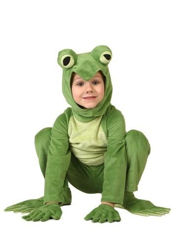 Disfraz de rana deluxe para niños pequeños