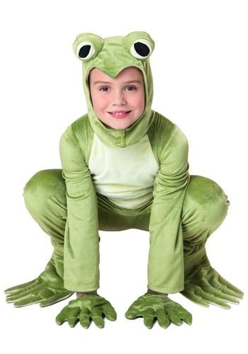 Disfraz infantil deluxe de rana