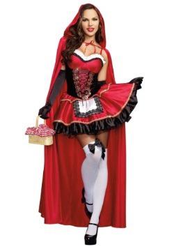 Disfraz rojo pequeño para mujer