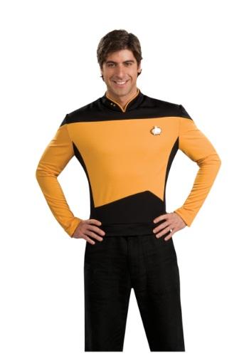 Star Trek: Uniforme de Operaciones TNG deluxe para adulto