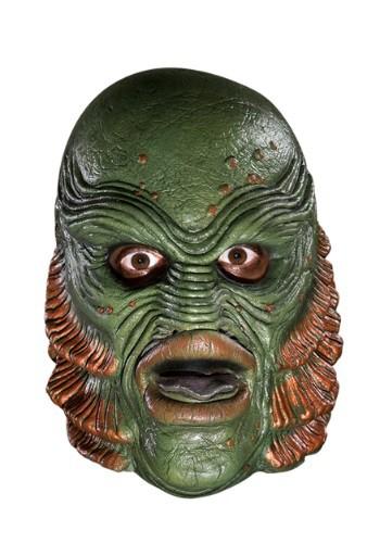 Máscara de La criatura de la laguna negra deluxe