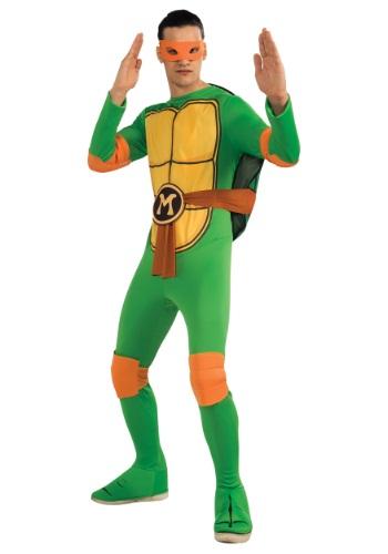 Disfraz clásico de Miguel Ángel de TMNT para adulto