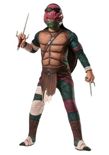 Disfra Rafael deluxe de la película Tortugas Ninja niños