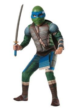 Disfraz Leonardo deluxe de la película Tortugas Ninja niños
