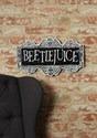 Letrero de Beetlejuice