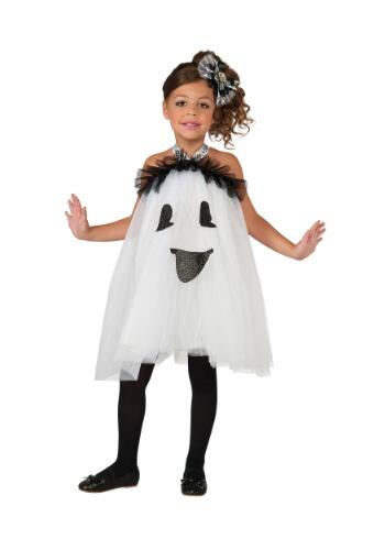 Vestido de niña de fantasma con tutú