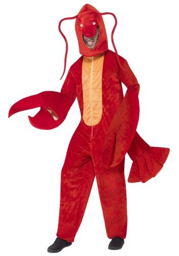 Disfraz de langosta roja para adulto