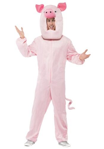 Disfraz de cerdo adulto