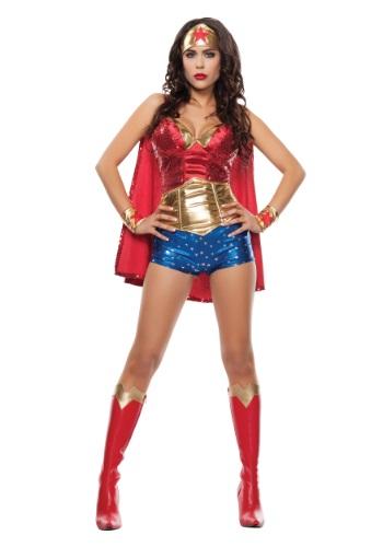 Disfraz para mujer Wonder Lady