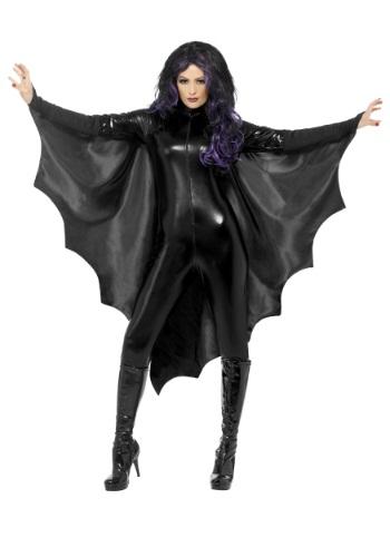 Alas de murciélago negras para adulto