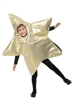 Disfraz infantil de estrella