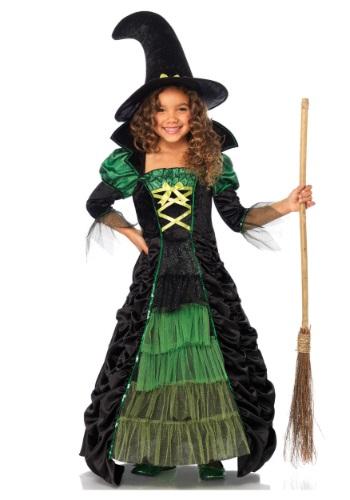 Disfraz infantil de bruja de cuento